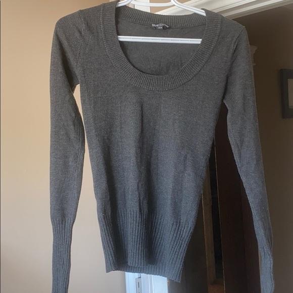 Scoop neck sweater/shirt